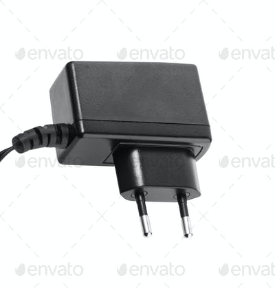 AC - DC Adapter isolated on white