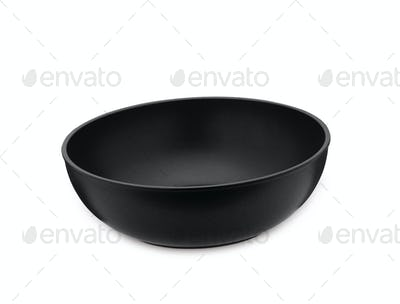 Fry pan - isolated on white background