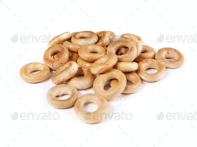 lot of delicious bagels