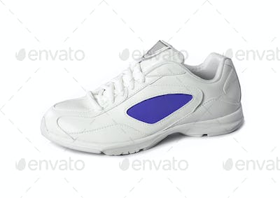 sneakers isolated on a white