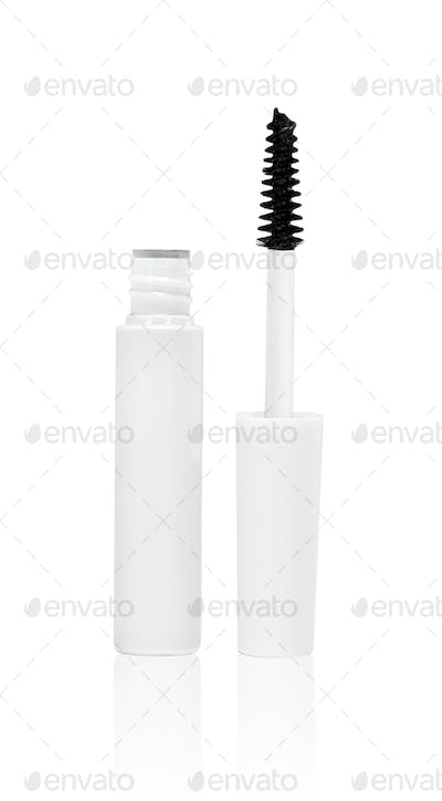 Mascara isolated on white