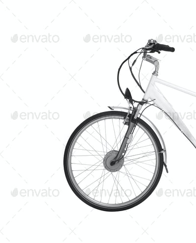 Bike isolated on white