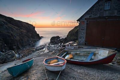 Boats at Church Cove