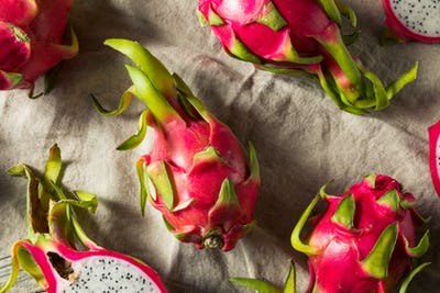 Raw Red Organic Dragon Fruit