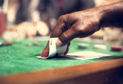 Adults gambling shoot