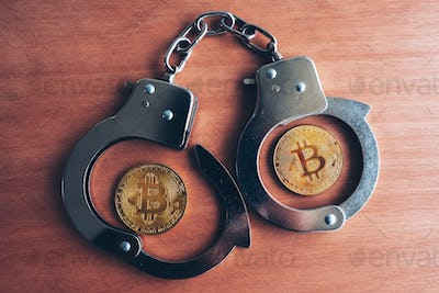 Handcuffs and bitcoins