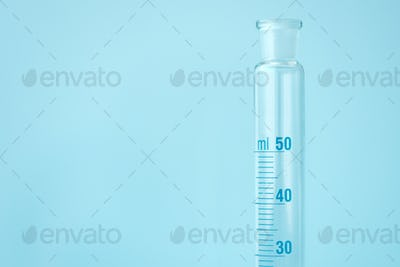 Mixing cylinder volumetric laboratory glassware