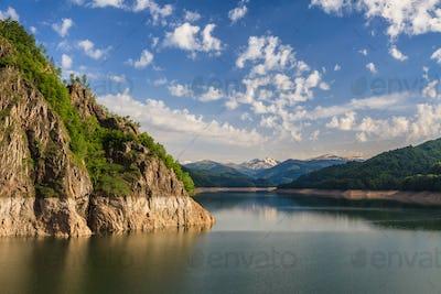 Vidraru lake, Romania