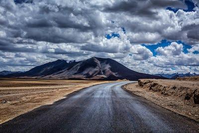 Manali-Leh highway. Ladakh, India