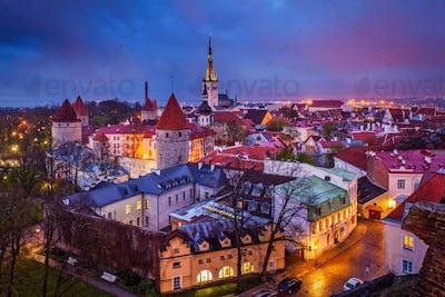 Tallinn Medieval Old Town, Estonia