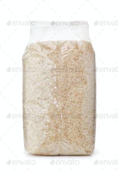 Plastic bag of dry long rice