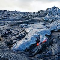 Active volcano