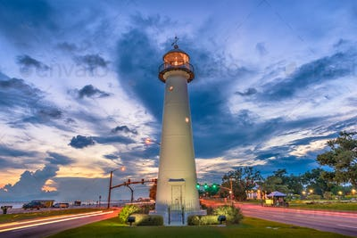 Biloxi, Mississippi, USA Lighthouse