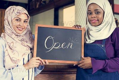 Islamic women small business partnership