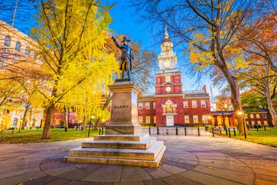 Philadelphia, Pennsylvania at Independence Hall