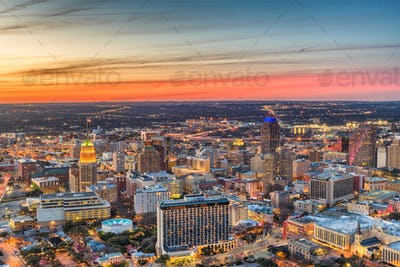 San Antonio, Texas, USA Skyline