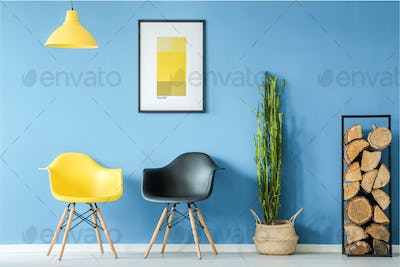 Waiting room in minimal style