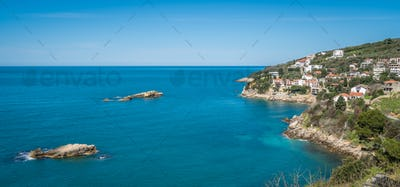 Beautiful coast of Adriatic sea