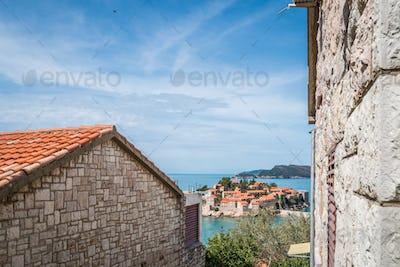 Historical Sveti Stefan old town