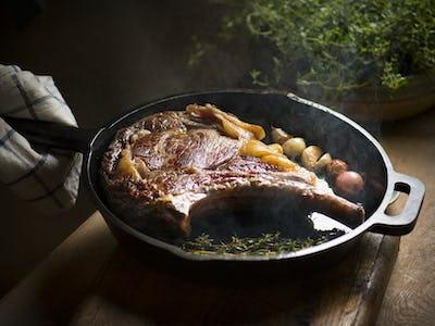 Lamb food photography recipe idea