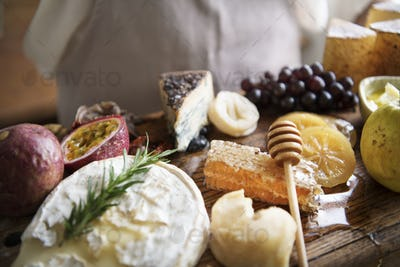 Cheese board food photography recipe idea