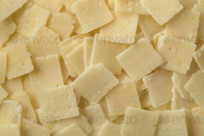 Parmigiana reggiano cheese flakes