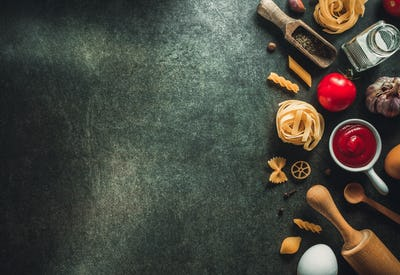 food ingredient and spices