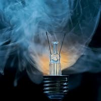 Fault - broken electric bulb