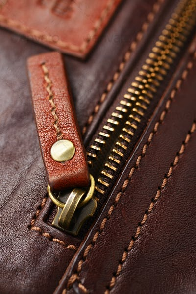 Metal brass zipper