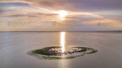 Ceaplace island, Romania