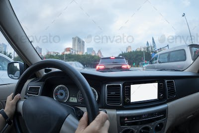 Driving in city