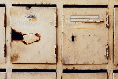 Obsolete mailboxes for post and letters
