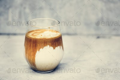 A perfect iced latte