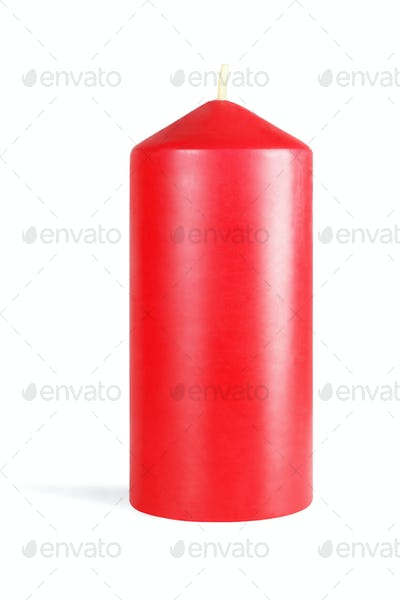 Decorative Red Candlestick