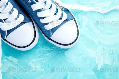 Female or male sneakers shoes