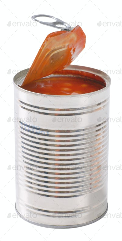 can of beans in tomato