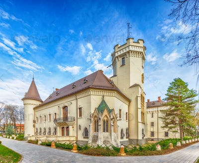 Karolyi castle in Carei