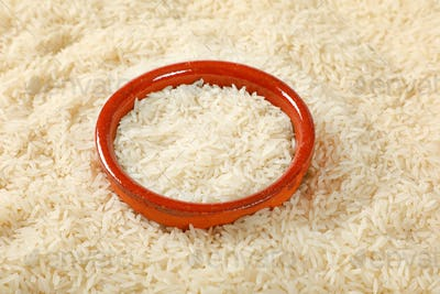 white long grained rice