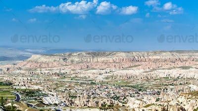 valley in Nevsehir Province in Cappadocia