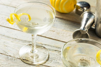 Homemade Alcoholic Vesper Martini