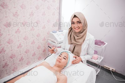 beauty treatment oxygen therapy