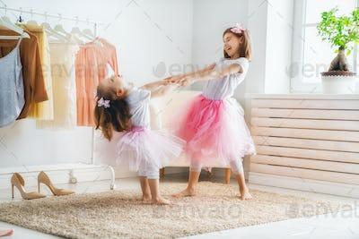 children are having fun