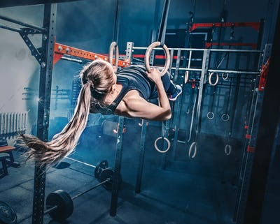 Concept: power, strength, healthy lifestyle, sport