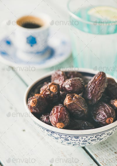 Traditional food for Ramadan iftar