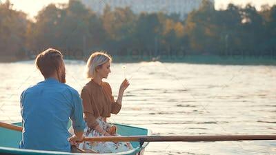 Happy couple utdoors