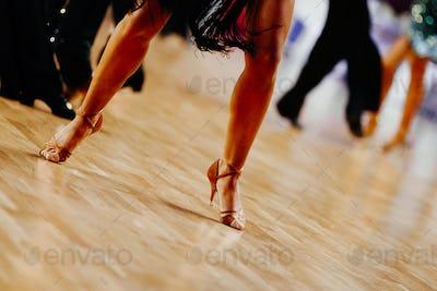 legs woman dancer
