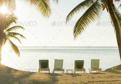 Beach Holiday Deckchairs