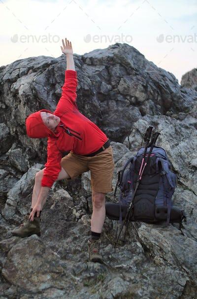 alpine stretch