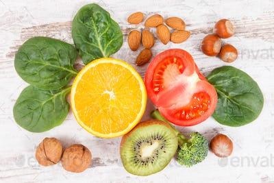 Natural ingredients as source potassium, vitamin K, minerals and fiber