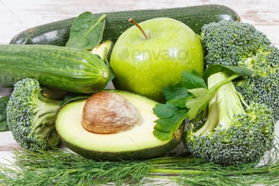 Natural green ingredients as source vitamins and minerals